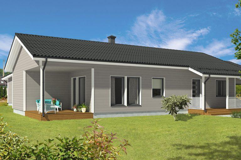 Kirkkonummi - Omakotitalo 118,5 m²