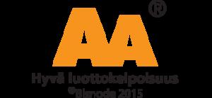 AA Hyvä luottokelpoisuus 2015