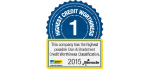 Bisnode: highest credit worthiness 2015